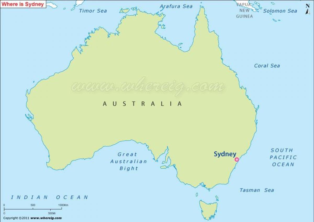 sydney térkép Térkép sydney ausztrália, Ausztrália térkép sydney (Ausztrália)